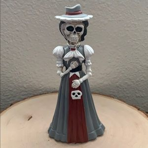 Day Of The Dead Skeleton Victorian Woman Decor